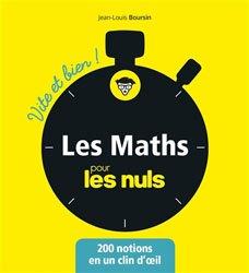 Les mathématiques pour les Nuls