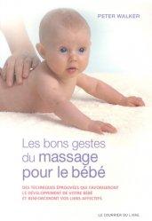 Les bons gestes du massage pour le bébé-le courrier du livre-9782702909539