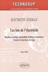 Les lois de l'électricité