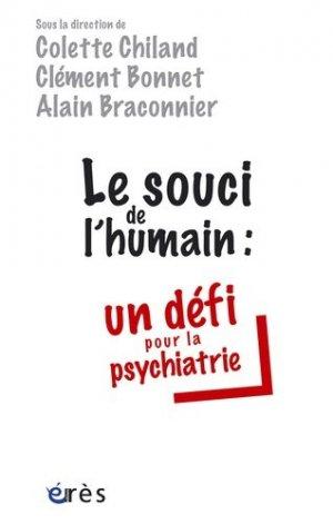 Le souci de l'humain: un défi pour la psychiatrie-eres-9782749211855
