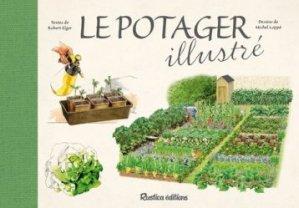 Le potager illustré-rustica-9782815309363