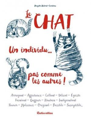 Le chat... un individu pas comme les autres-rustica-9782815309509