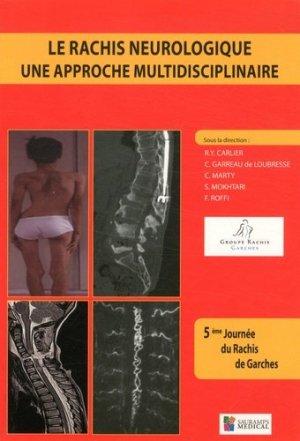 Le rachis neurologique-sauramps medical-9782840239628