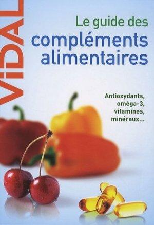 Le guide des compléments alimentaires-vidal-9782850911668