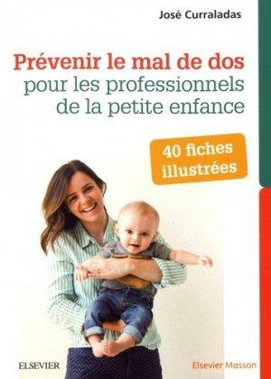 40 fiches illustrées prévenir mal de dos 2ed.-elsevier / masson-9782294754654
