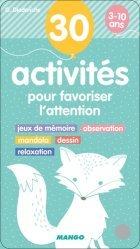 30 activités pour favoriser l'attention