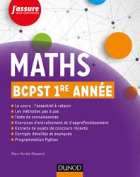 Maths BCPST 1