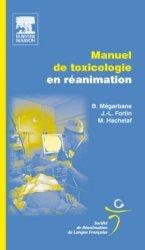 Manuel de toxicologie en réanimation