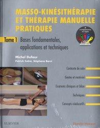 Masso-kinésithérapie et thérapie manuelle pratiques-elsevier / masson-9782294759789