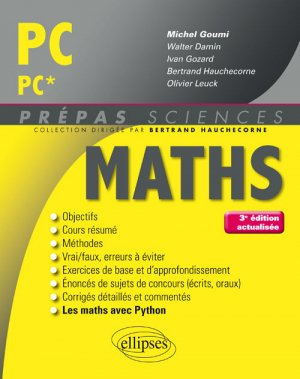 Maths PC PC*-ellipses-9782340018662