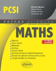 Mathématiques PCSI