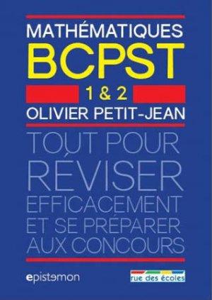 Mathématiques BCPST 1 et 2-rue des ecoles-9782820806147