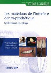 Matériaux de l'interface dento-prothétique