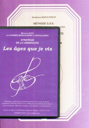 Méthode G.D.S des chaines musculaires et articulaires - Stratégie de la lemniscate Tome 1 + Tome 2 DVD-ict gds-2224296198557