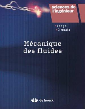 Mécanique des fluides-de boeck superieur-9782804164836
