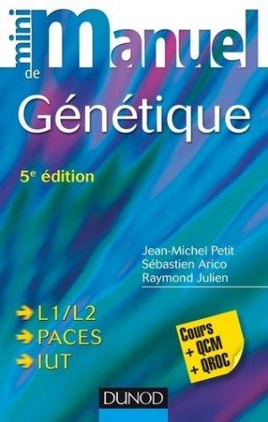 Mini Manuel de Génétique-dunod-9782100761760