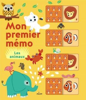 Mon premier mémo - Les animaux-milan-9782745983657