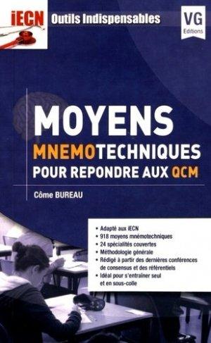 Moyens mnémotechniques pour répondre aux QCM-vernazobres grego-9782818315507