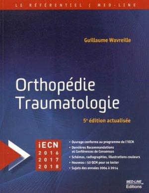 Orthopédie Traumatologie-med-line-9782846781572