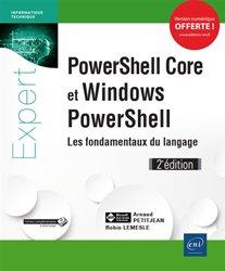 PowerShell Core et Windows PowerShell