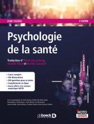 Psychologie de la santé