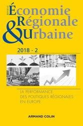Revue d'économie régionale et urbaine nº 2/2018