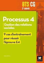 Réussir l'épreuve - PROCESSUS 4 BTS CG 1re et 2e années