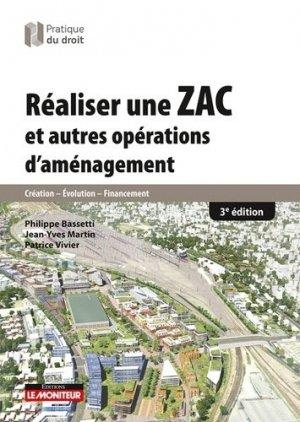 Réaliser une ZAC et autres opérations d'aménagement-le moniteur-9782281130898