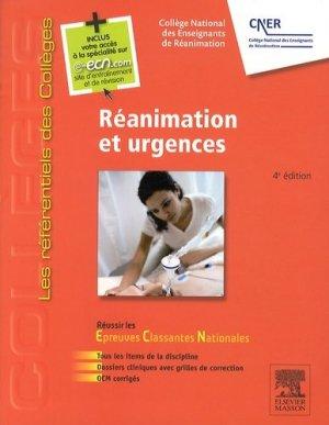Réanimation et urgences-elsevier / masson-9782294743122