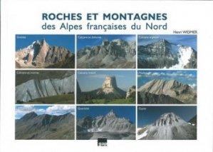 Roches et montagnes des alpes francaises du nord
