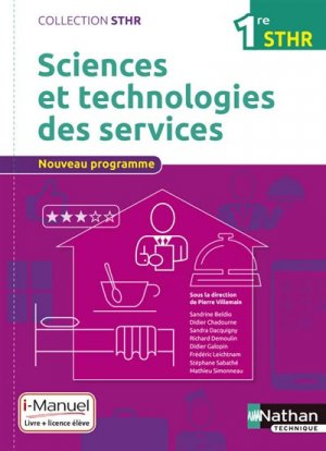 Sciences et technologies des services 1re STHR-nathan-9782091640419