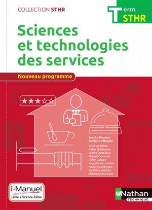 Sciences et technologies des services Tle STHR-nathan-9782091648156