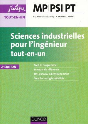 Sciences industrielles pour l'ingénieur MP, PSI, PT-dunod-9782100752157