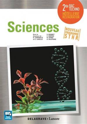 Sciences 2de Bac STHR (2017) - Pochette élève-delagrave-9782206303154