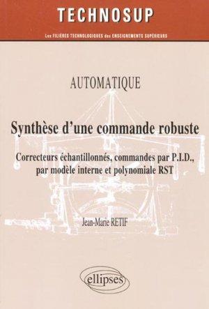 Synthèse d'une commande robuste-ellipses-9782729866785