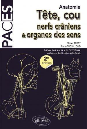 Tête, cou, nerfs crâniens et organes des sens-ellipses-9782340012714