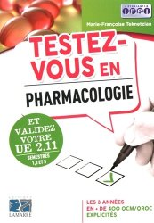 Testez-vous en pharmacologie et validez votre UE 2.11