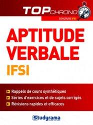 Tests d'aptitude verbale IFSI