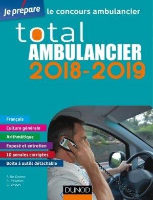 Total Ambulancier 2018-2019 - Concours Ambulancier-dunod-9782100769681