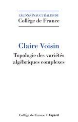 Topologie des variétés algébriques complexes