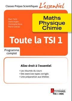 Toute la TSI 1-lavoisier / tec et doc-9782743022792