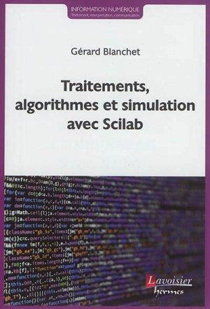 Traitements, algorithmes et simulation avec Scilab-lavoisier / hermès-9782746248014