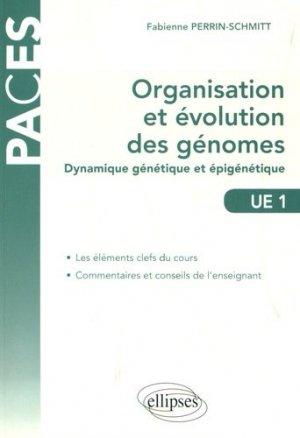 UE1 - Organisation et évolution des génomes-ellipses-9782340016583