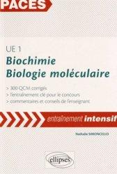 UE1 Biochimie Biologie moléculaire