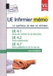 UE 4.1 Soins de confort et de bien être - UE 4.2 Soins relationnels  - UE 4.7 Soins palliatifs et fin de vie