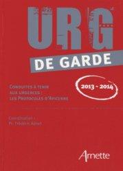 Urg' de garde 2013-2014-arnette-9782718413112