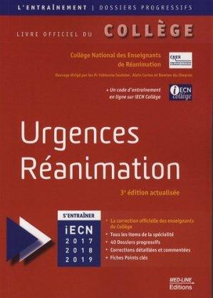 Urgences Réanimation-med-line-9782846781930