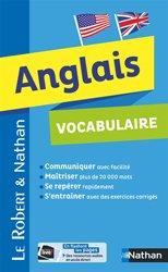 Vocabulaire Anglais - Robert  Nathan