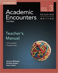 Academic Encounters Level 3 - Teacher's Manual Reading and Writing