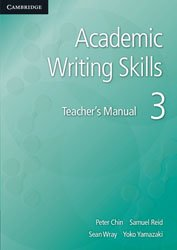 Academic Writing Skills 3 - Teacher's Manual